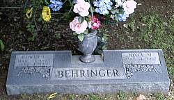 Behringer, Edwin and Joyce