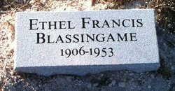 Blassingame, Ethel