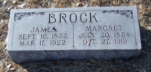 Brock, James & Margaret