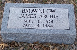 Brownlow, James Archie