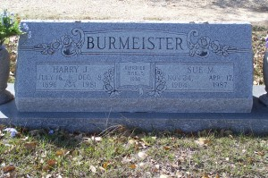 Burmeister, Harry & Sue