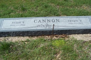Cannon, Nellie & Ernest