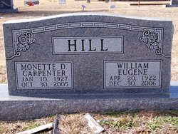 Carpenter, Monette & William E