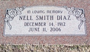 Diaz, Nell Smith Diaz