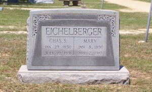 Eichelberger, Charles S & Mary