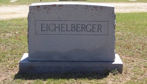 Eichelberger monument