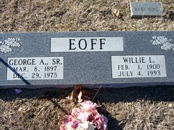 Eoff, Willie and George