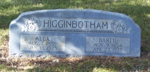Higginbotham, Alex & Bartille