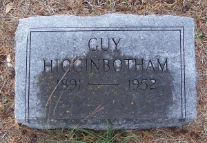 Higginbotham, Guy