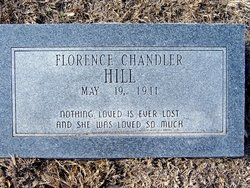 Hill, Florence Chandler
